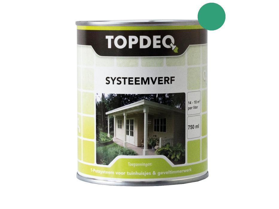 Topdeq Systeemverf Middengroen