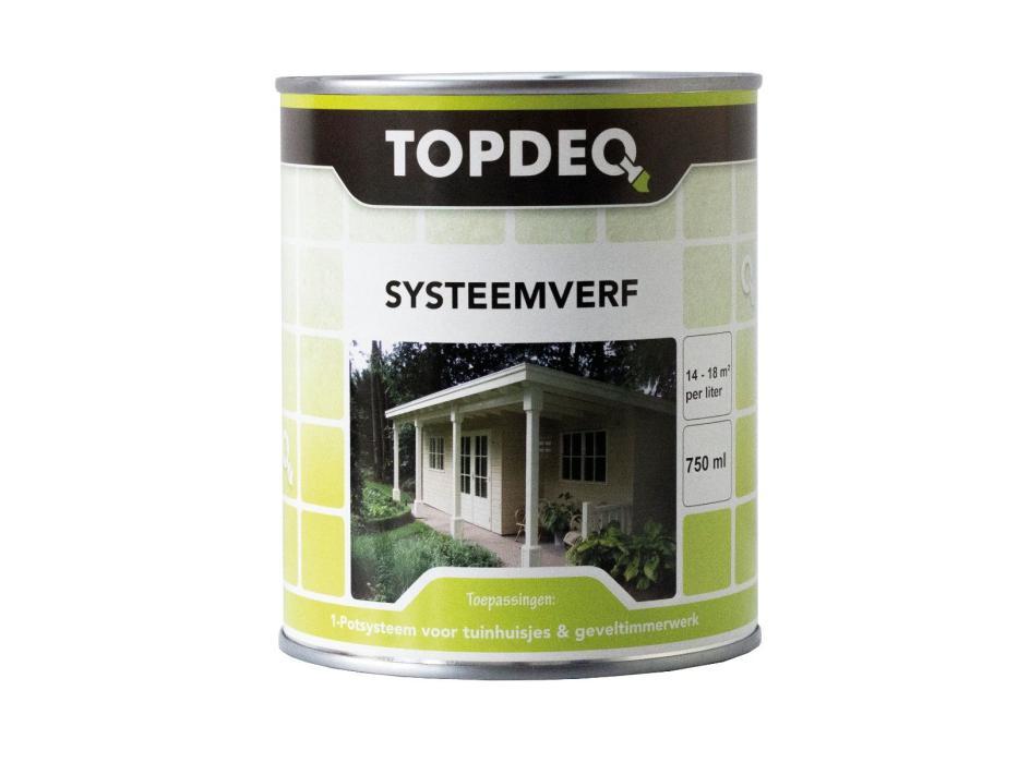 Topdeq Systeemverf Zwart