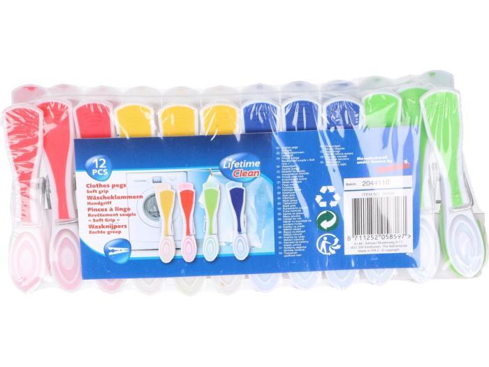Lifetime Clean Wasknijpers 12pcs