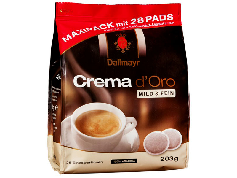 Dallmayr Crema D'oro Mild & Fein