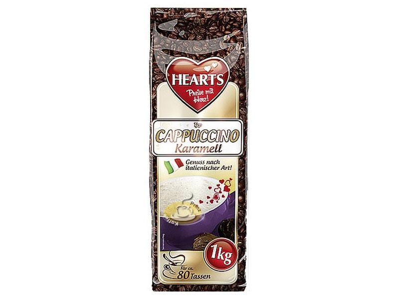 Hearts Cappuccino Caramel