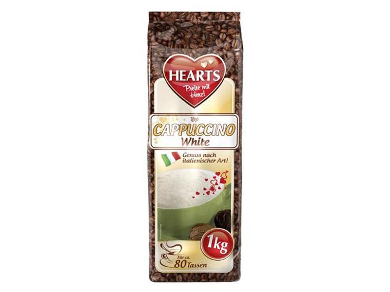 Hearts Cappuccino White