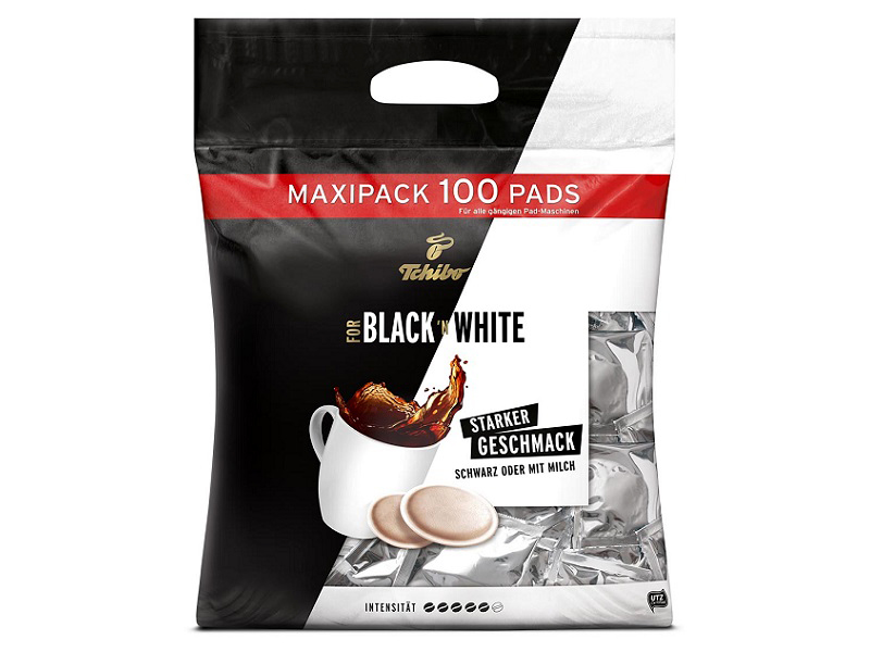 Tchibo Black & White 100 Pads
