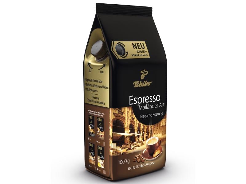 Licht Gebrande Koffiebonen : Tchibo espresso mailander art kg koffiebonen de prijshamer