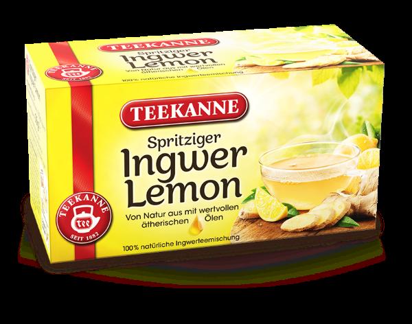Teekanne Ingwer Lemon