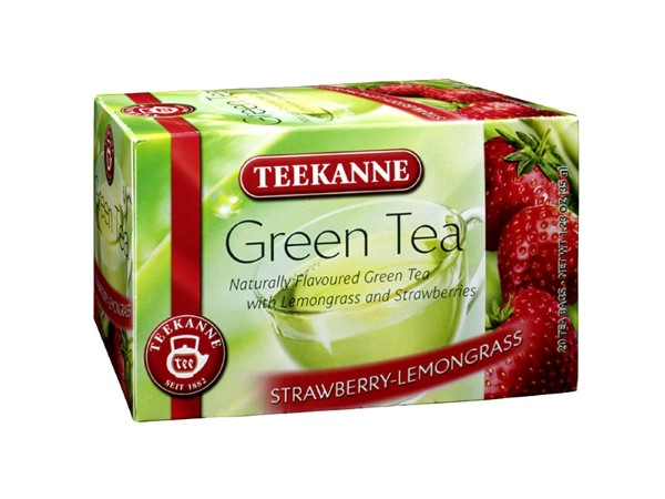Teekanne Green Tea Strawberry-Lemongrass