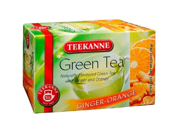 Teekanne Green Tea Ginger-Orange
