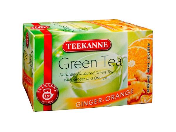Teekanne Green Tea Ginger-Orange