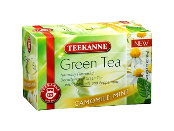 Teekanne Green Tea Camomile-Mint