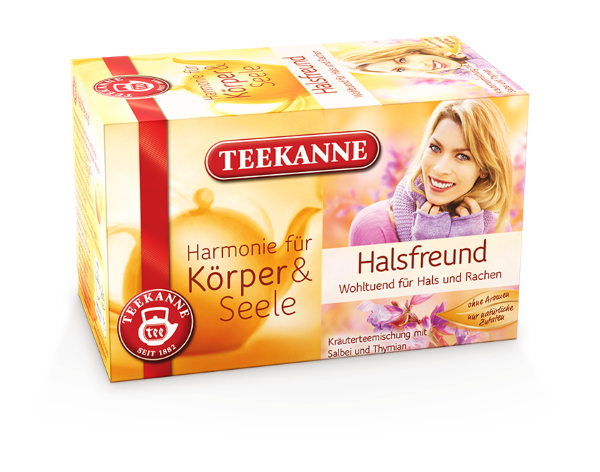 Teekanne Halsfreund