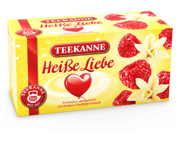 Teekanne Hot Love