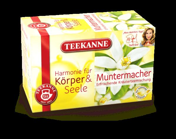 Teekanne Muntermacher