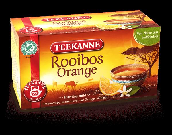 Teekanne Rooibos Orange